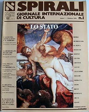 SPIRALI GIORNALE INTERNAZIONALE DI CULTURA N. 1: AA.VV.