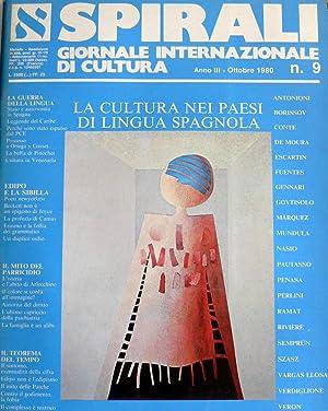 SPIRALI: GIORNALE INTERNAZIONALE DI CULTURA. LA CULTURA: AA.VV.