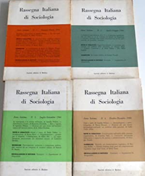 RASSEGNA ITALIANA DI SOCIOLOGIA. ANNO 7 ANNATA: AA.VV.