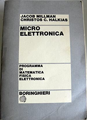 MICROELETTRONICA: JACOB MILLMAN, CHRISTOS