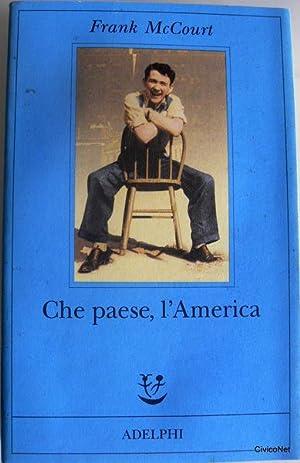 CHE PAESE, L'AMERICA: FRANK MCCOURT