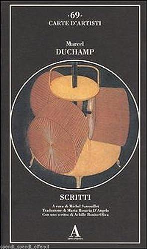 SCRITTI: MARCEL DUCHAMP