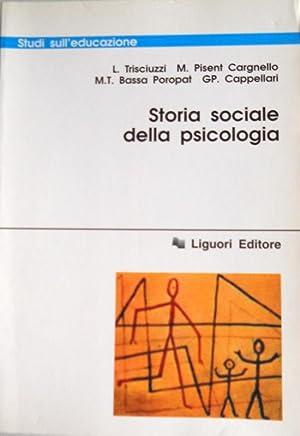 STORIA DELLA PSICOLOGIA SOCIALE: LEONARDO TRISCIUZZI, MARIA