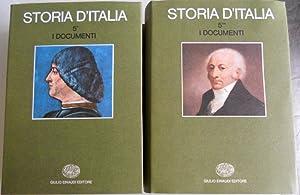I DOCUMENTI: STORIA D'ITALIA 5/1, 5/2: RUGGIERO ROMANO, CORRADO