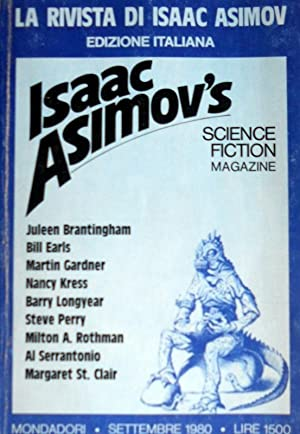 LA RIVISTA DI ISAAC ASIMOV'S. SCIENCE FICTION MAGAZINE N. 10 SETTEMBRE 1980