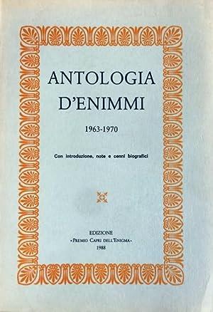ANTOLOGIA D'ENIMMI. (1963-1970): RAFFAELE ARAGONA, CESARE
