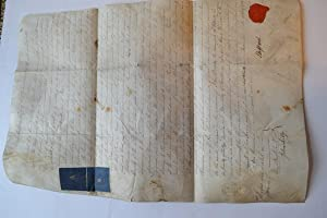 Manuscript document addressed to the Town Clerk of the City and County. of Lichfield.: STAFFORD. (...