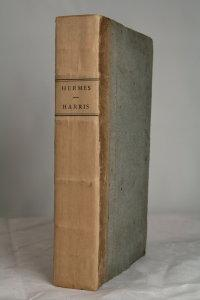 Hermes or a philosophical enquiry concerning universal grammar. The fifth edition.: HARRIS (James).