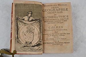 Paedia geographiae generalis sive mathematicae methodo accurata in usum studiosae juventis, ...