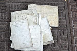A collection of 14 manuscript documents, being leases, indentures, covenants etc., concerning pro...