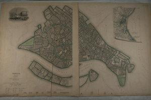 Venice.: MAP.