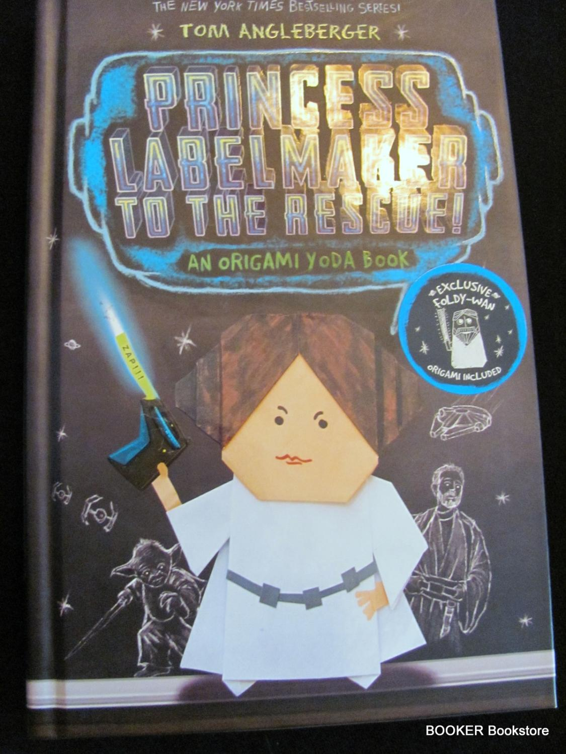 Princess labelmaker to the rescue by tom angleberger amulet princess labelmaker to the rescue tom angleberger jeuxipadfo Images