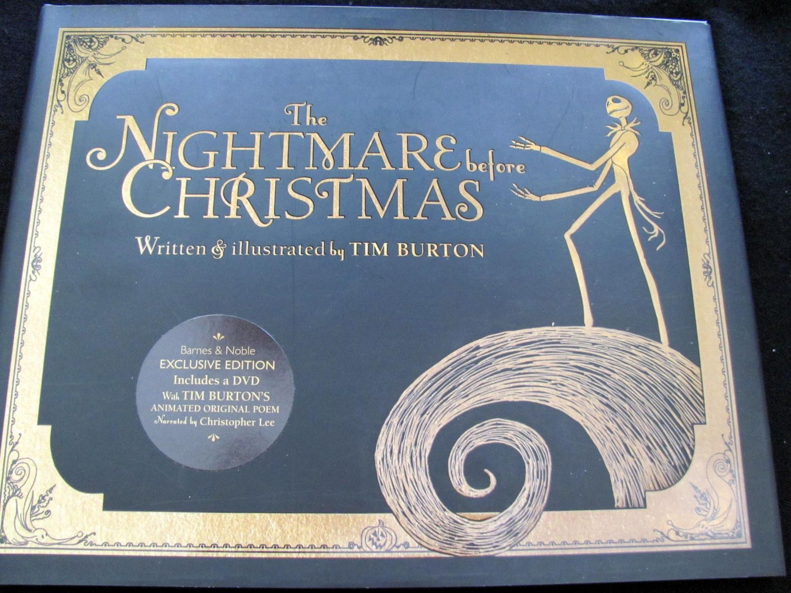 The Nightmare Before Christmas (B&N Exclusive Edition) by Tim ...