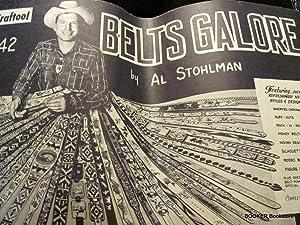 Belts Galore (Craftool No. 42) Leathercraft: Stohlman, Al