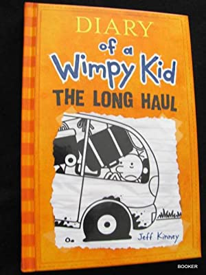 Diary wimpy kid signed abebooks diary of a wimpy kid the long jeff kinney solutioingenieria Image collections