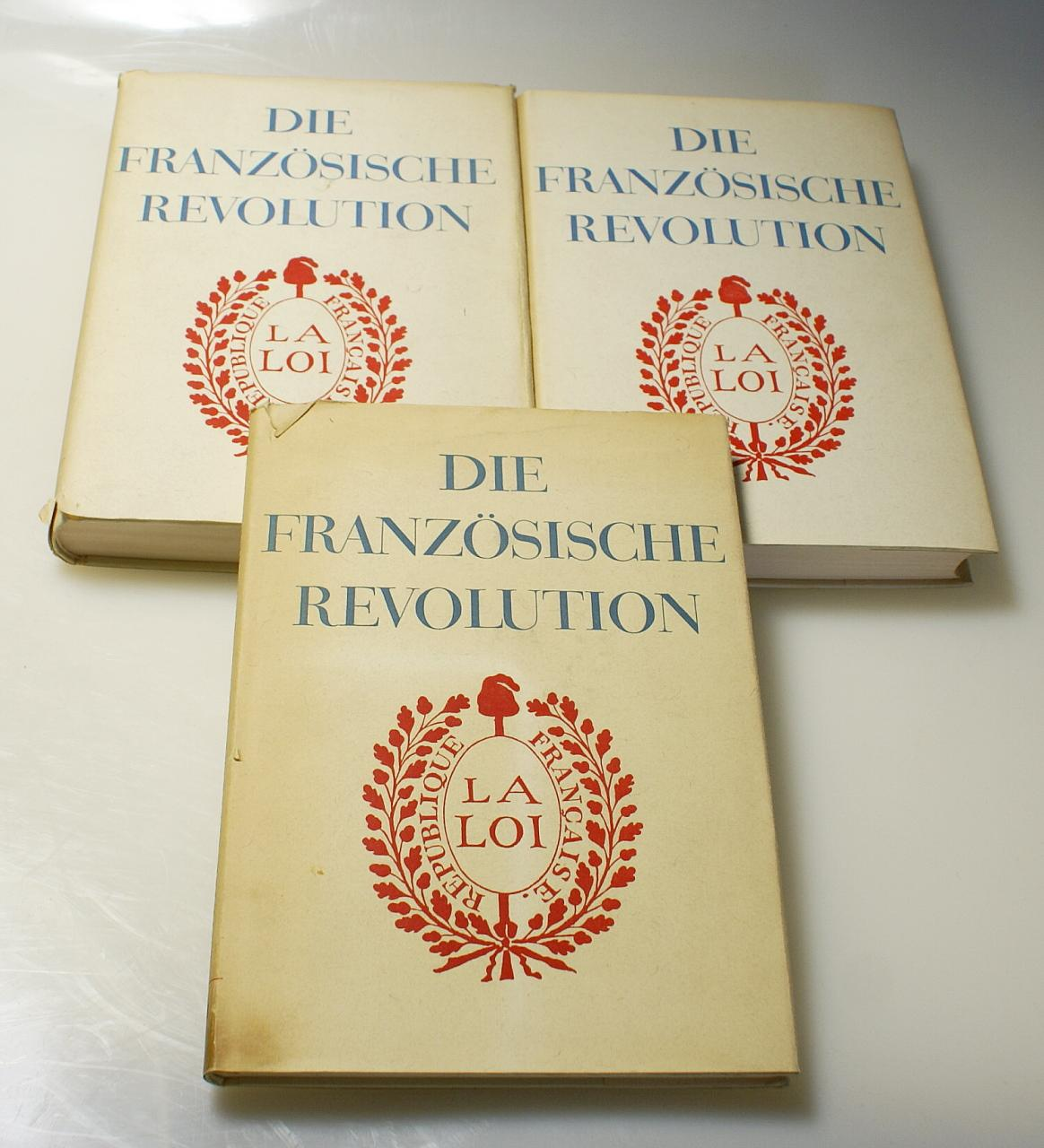Die französische Revolution (3 Bände): Mathiez, A.; Lefèbvre,