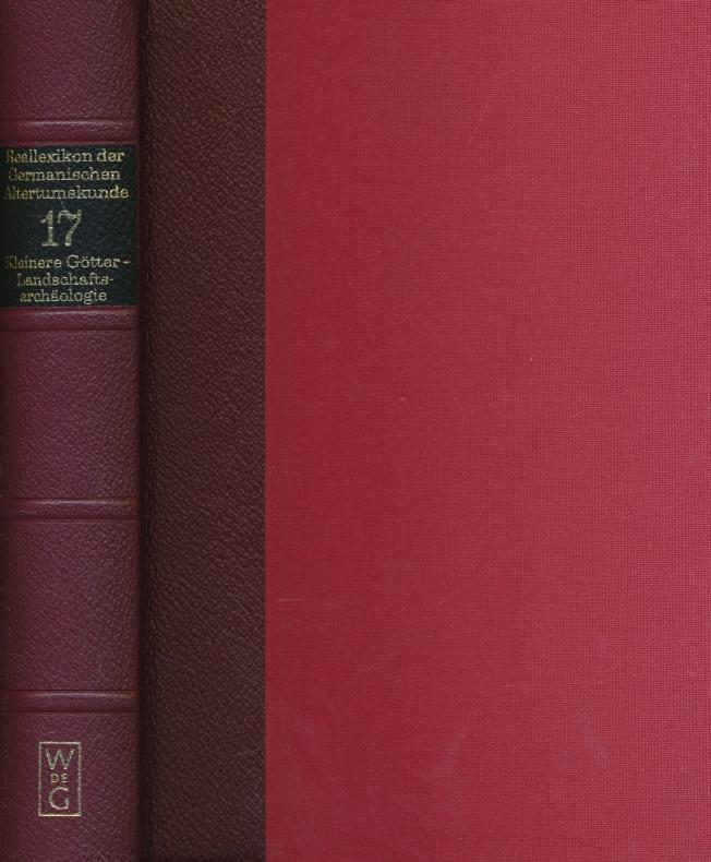 Reallexikon der Germanischen Altertumskunde. Band 17: Kleinere: Johannes Hoops mit