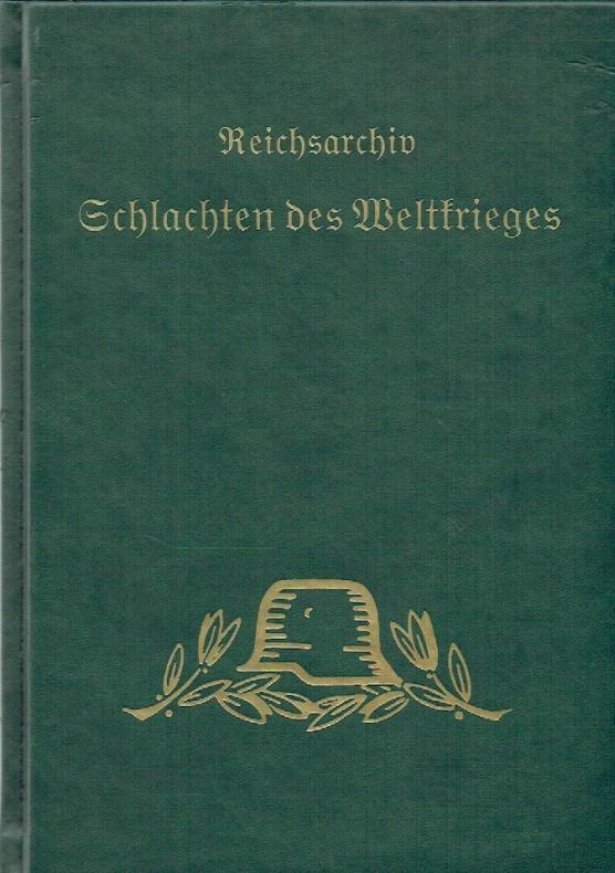 Schlachten des Weltkrieges, 24 ; Das Marnedrama 1914 - Teil: 3,1 : Die Kämpfe des Gardekorps und des rechten Flügels der 3. Armee vom 5. bis 8. September.