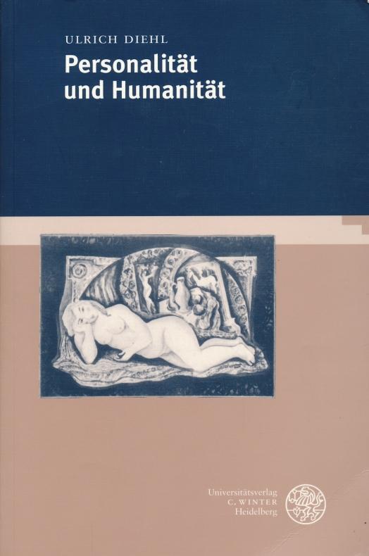 Beiträge zur Philosophie Personalität und Humanität. - Diehl, Ulrich