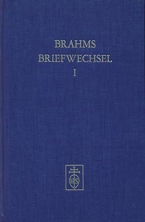Johannes Brahms im Briefwechsel mit Heinrich und Elisabet von Herzogenberg. Erster Band.: Max ...