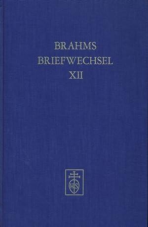 Johannes Brahms Briefe an Fritz Simrock. Vierter Band.: Max Kalbeck (Hrsg.):