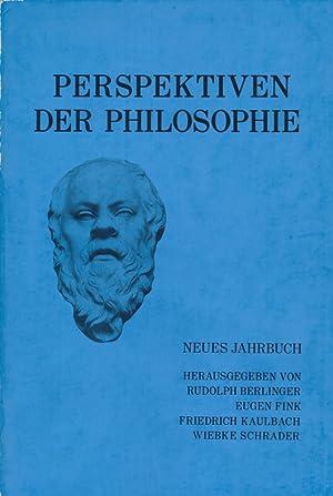 Perspektiven der Philosophie Neues Jahrbuch Band 1 - 1975.: Berlinger, Rudolph [Begr.]: