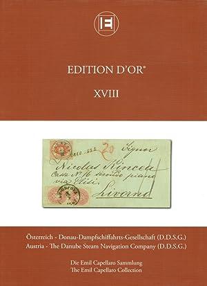 Edition d'or ; 18 Österreich - Donau-Dampfschiffahrts-Gesellschaft (D.D.S.G.) ; Austria -...