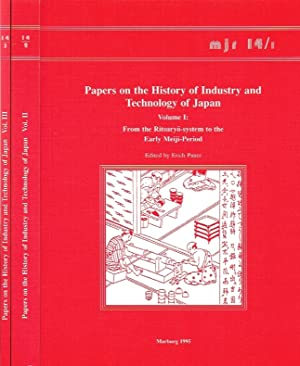Papers on the History of Industry and Technology of Japan (3 Volumes - Marburger Japan-Reihe, Band ...