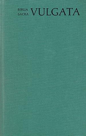 Biblia sacra iuxta Vulgatam versionem - Tomus I: Genesis-Psalmi / adiuvantibus Bonifatio ...