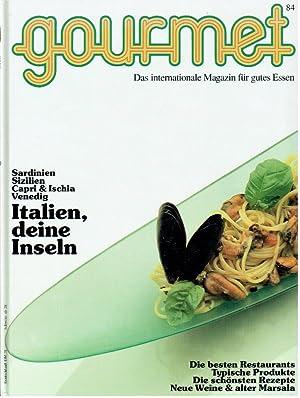 Gourmet das internationale Magazin für gutes Essen: Diverse