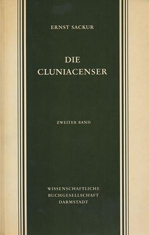 Die Cluniacenser / Ernst Sackur. Band 1 Und 2: Sackur, Ernst [1862-1901] :