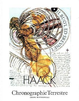 Horst Haack : chronographie terrestre ; (work: Haack, Horst: