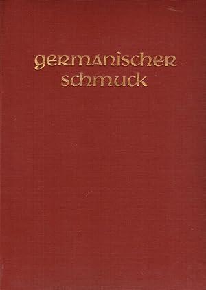 Germanischer Schmuck des frühen Mittelalters.: Jenny, Wilhelm A. von: