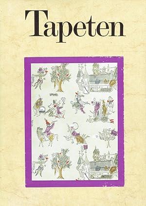 Tapeten - Ihre Geschichte bis zur Gegenwart ; Band 3: Technik und wirtschaftliche Bedeutung.: ...