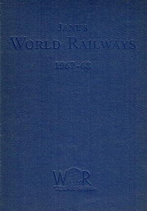 Janes World Railways ; 1967-68.: Sampson, Henry (Ed.)