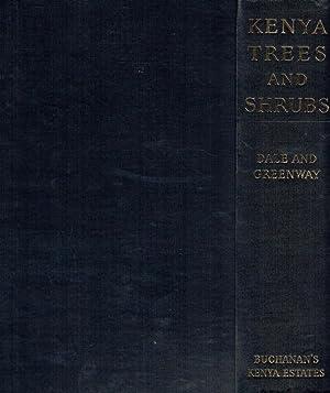 Kenya trees & shrubs.: Dale, Ivan R.