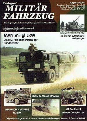 MAN mil gl LKW - Die KFZ-Folgegeneration: Vollert, Jochen (Ch.-Red.)