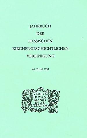 Jahrbuch der Hessischen Kirchengeschichtlichen Vereinigung, Band 44.: Dienst, Karl (Herausgeber).: