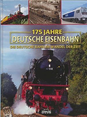 175 Jahre deutsche Eisenbahn : die Deutsche: Siem, Gerhard: