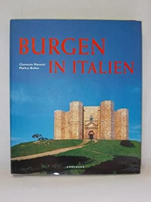 Burgen in Italien.: Manenti, Clemente ;