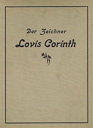 Der Zeichner Lovis Corinth. Reihe: Arnolds graphische Bücher, Zweite Folge, Band 5.: Biermann,...