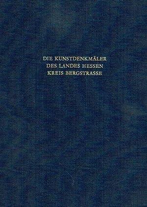 Kreis Bergstrasse ; Text- und Bildband. Die Kunstdenkmäler des Landes Hessen.: Einsingbach, ...