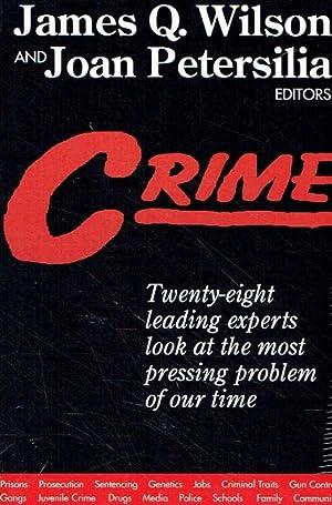 Crime.: Wilson, James Q.;