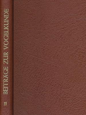 Beiträge zur Vogelkunde. 11. Band 1965 / 66.: Dr. Heinrich Dathe (Hrsg.), Dr. G. Creutz (...
