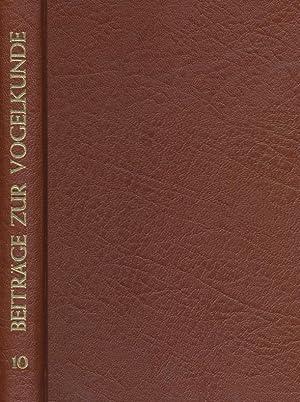 Beiträge zur Vogelkunde. 10. Band 1964 / 65.: Dr. Heinrich Dathe (Hrsg.), Dr. G. Creutz (...