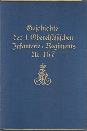 Geschichte des 1. Oberelsässischen Infanterie-Regiments Nr. 167.: Seebohm (Major a.D.)