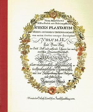 Icones plantarum medico-oeconomico-technologicarum cum earum fructus ususque descriptione = ...