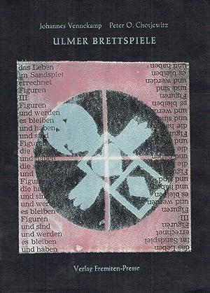 Passgänge ; Bd. 10 Ulmer Brettspiele : 20 Maschinenmalereien.: Vennekamp, JohannesChotjewitz, ...