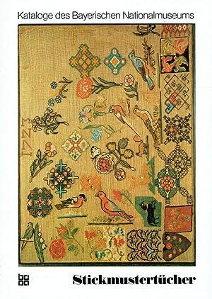 Kataloge des Bayerischen Nationalmuseums München ; Bd. 16 Stickmustertücher.: Gockerell, ...