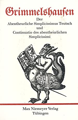 Grimmelshausen, Hans Jakob Christoffel von: Gesammelte Werke in Einzelausgaben . - Teil: Der ...
